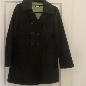 Wool classic Jcrew long coat